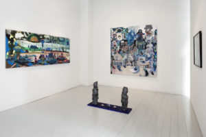Installations view Painting and sculpture