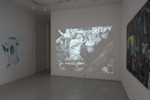 An Audio Guide To The Kvetny Galaxy, Installation view