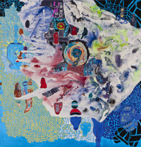 Windharp 2012 Arcylic on canvas