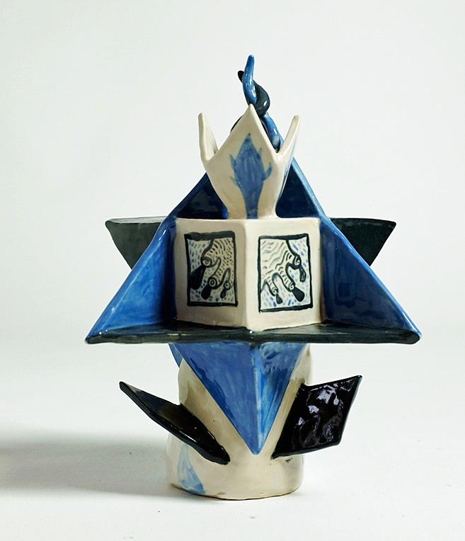 Col lectors Room Keramik med glasur 28x19x13 cm